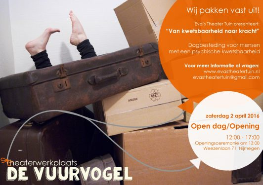 Flyer VUURVOGEL Open Dag april 2016