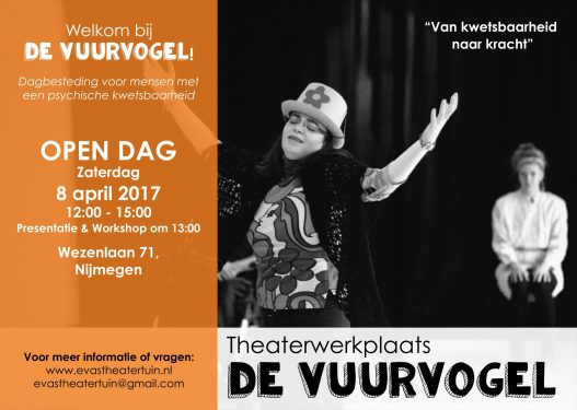 Open dag De VUURVOGEL 8 april 2017 -